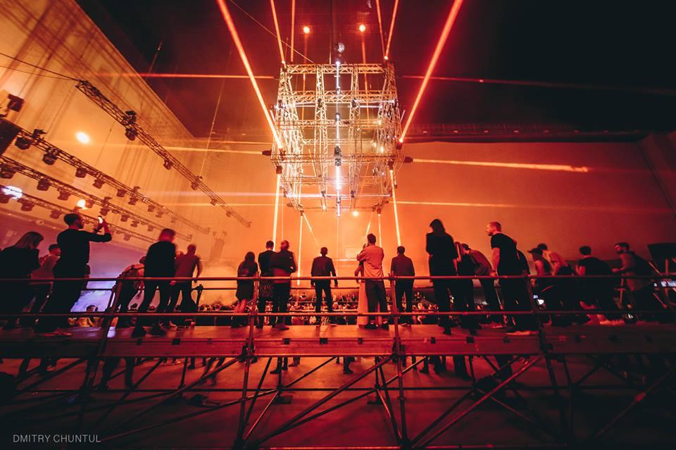 setup ánh sáng sân khấu