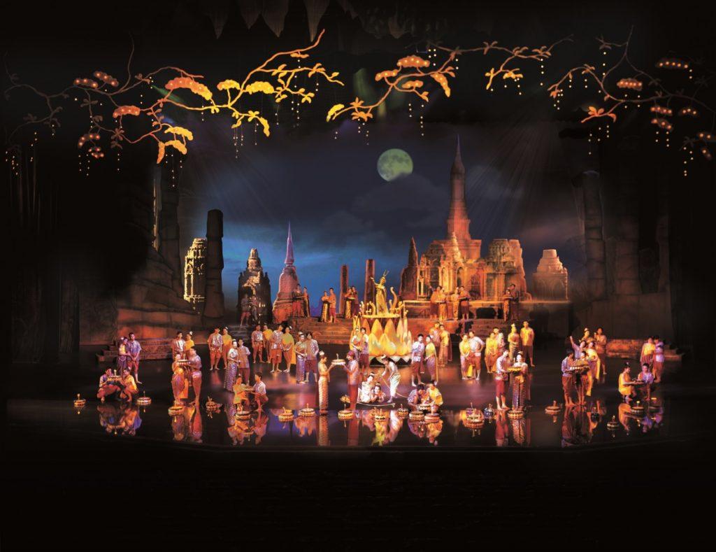 Những nét văn hóa đặc trưng của Thái Lan trên sân khấu (hình ảnh: Siam Niramit)