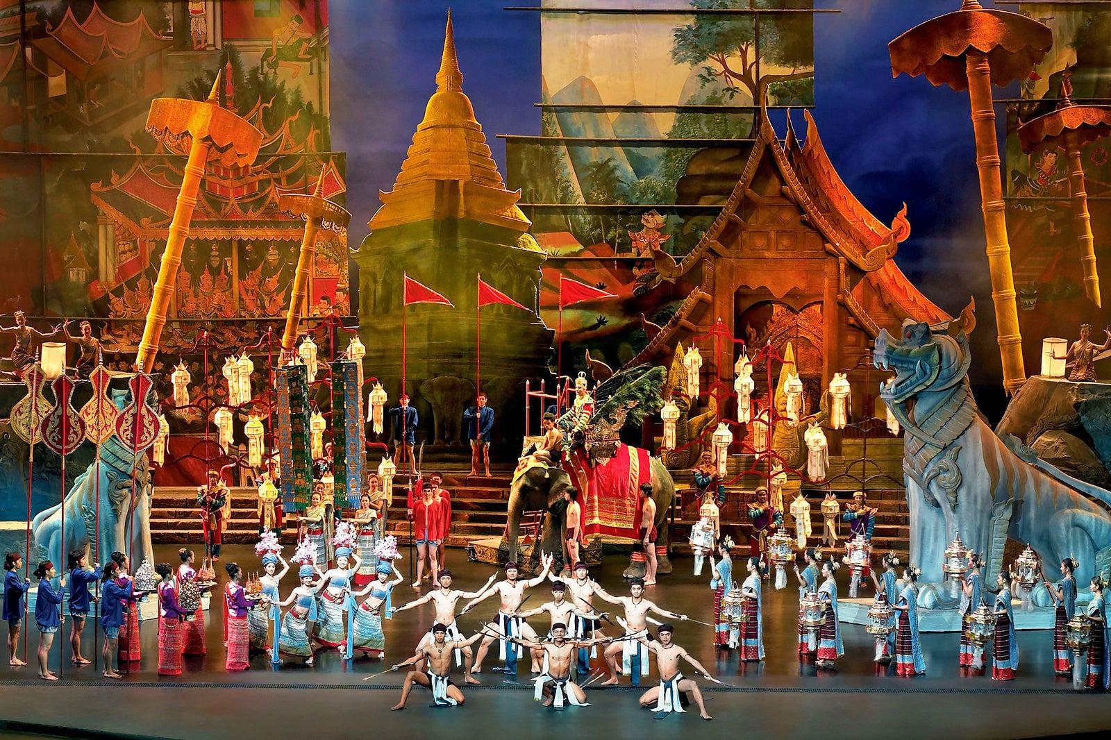 Một Siam nguy nga tráng lệ (hình ảnh: Siam Niramit)